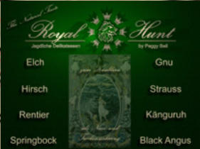 Royal Hunt - Jagdliche Delikatessen by Peggy Bell und Friends
